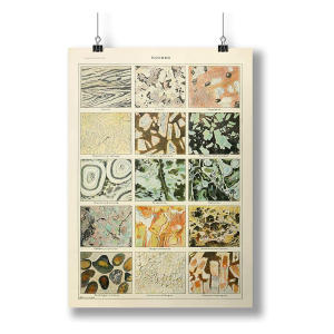 Mineral Art Poster