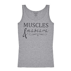 Muscles and Mascara Gym Tank Top