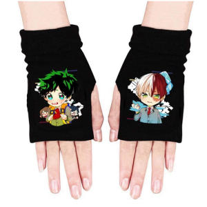 My Hero Academia Knitted Gloves