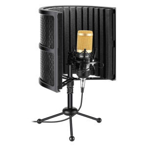Neewer Tabletop Compact Microphone Isolation Shield