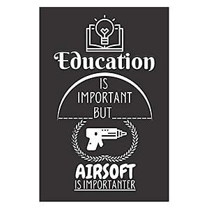 Novelty Airsoft Notebook