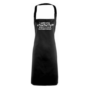 Novelty Breathe Underwater Apron