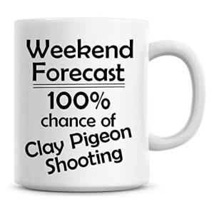 Novelty Clay Pigeon Shooting Mug