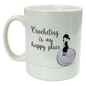 Novelty Crocheting Mug
