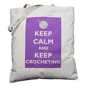 Novelty Crocheting Shopping Bag