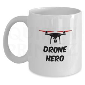 Novelty Drone Hero Mug