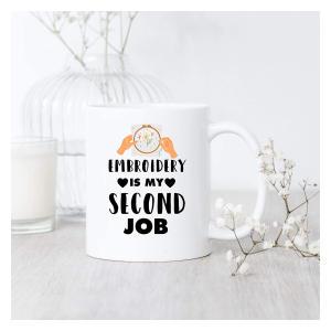 Novelty Embroidery Mug
