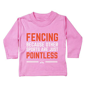 Novelty Fencing Baby Unisex T-Shirt