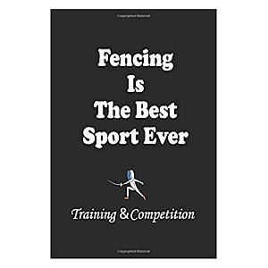 Novelty Fencing Notebook