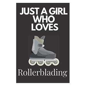 Novelty Girl's Rollerblading Notebook