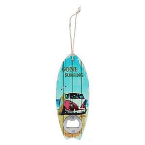 Novelty Gone Surfing Bottle Opener