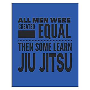 Novelty Jiu Jitsu Notebook
