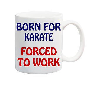 Novelty Karate Mug