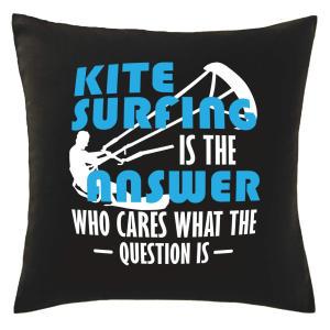 Novelty Kitesurfing Cushion Cover