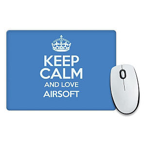 Novelty Love Airsoft Mouse Mat