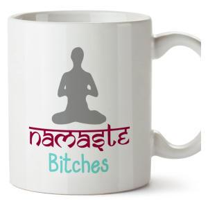 Novelty Namaste Mug