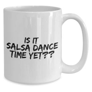Novelty Salsa Dance Mug