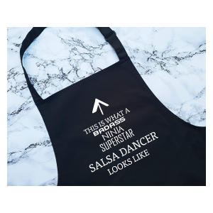 Novelty Salsa Dancing Apron