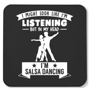 Novelty Salsa Dancing Coaster