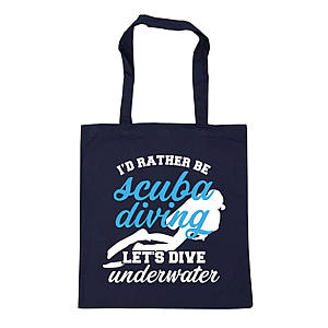 Novelty Scuba Diving Shopping Bag