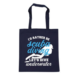Novelty Scuba Diving Shopping Bag