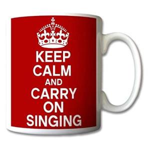 Novelty Singing Mug