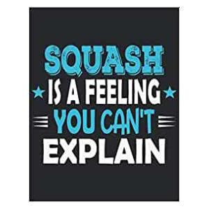 Novelty Squash Notebook