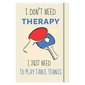 Novelty Table Tennis Notebook