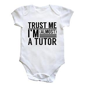 Novelty Tutor Baby Vest