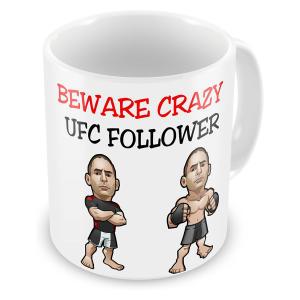 Novelty UFC Mug