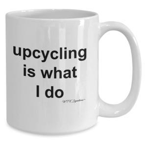 Novelty Upcycling Mug