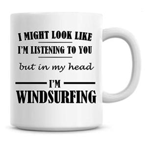 Novelty Windsurfing Coffee Mug