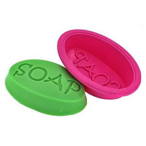 Oval Silicone Soap Mould