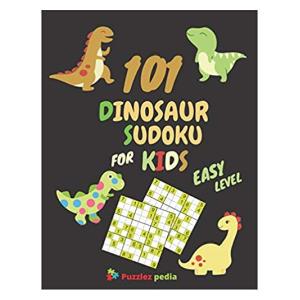 P101 Dinosaur Sudoku For Kids