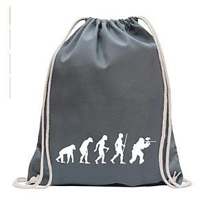 Paintball Design Drawstring Bag