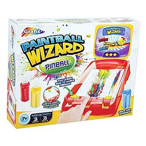 Paintball Wizard Pinball Art Set