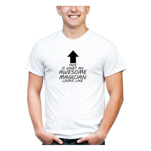 Personalised Awesome Magician T Shirt