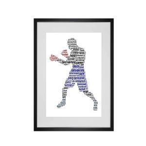 Personalised Boxer Art Print