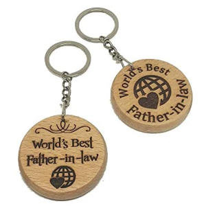 World's Best Father in Law Keyring