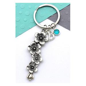Personalised Florist Key Ring