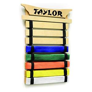 Personalised Karate Belt Display