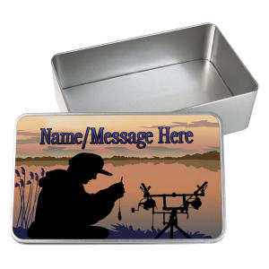 Personalised Storage Fly Fishing Tin