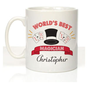 Personalised World's Best Magician Mug