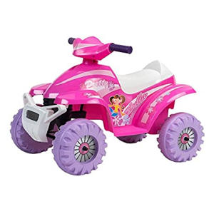Pink Racing 6V Quad Ride-on Battery Powered