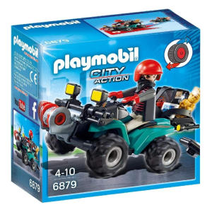 Playmobil Robber's Quad with Loot