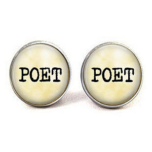 Poet Cufflinks