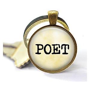 Poet Key Chain