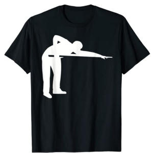 Pool Player T Shirt