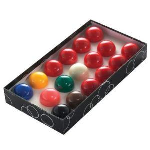 17 Snooker Balls