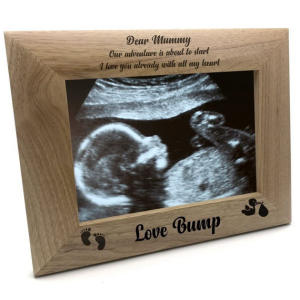 Pregnancy Scan Photo Frame